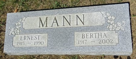 MANN, ERNEST - Jones County, South Dakota | ERNEST MANN - South Dakota Gravestone Photos