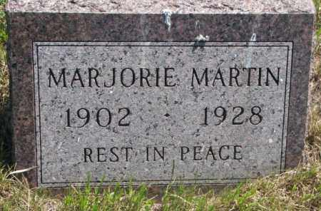 MARTIN, MARJORIE - Jones County, South Dakota | MARJORIE MARTIN - South Dakota Gravestone Photos