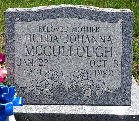 MCCULLOUGH, HULDA - Jones County, South Dakota | HULDA MCCULLOUGH - South Dakota Gravestone Photos