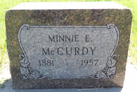 MCCURDY, MINNIE - Jones County, South Dakota | MINNIE MCCURDY - South Dakota Gravestone Photos