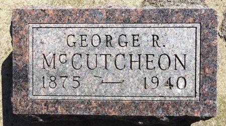 MCCUTCHEON, GEORGE - Jones County, South Dakota   GEORGE MCCUTCHEON - South Dakota Gravestone Photos