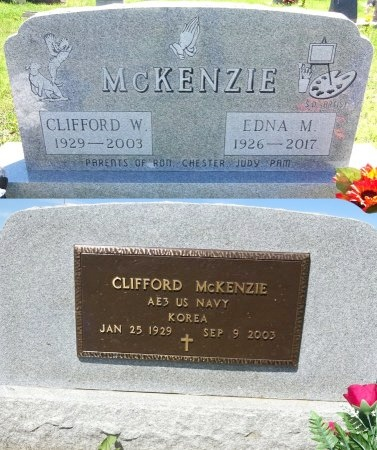 MCKENZIE, CLIFFORD - Jones County, South Dakota | CLIFFORD MCKENZIE - South Dakota Gravestone Photos