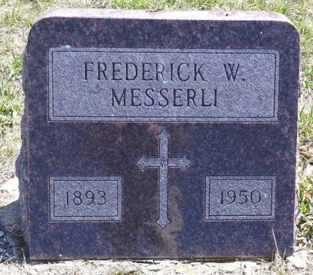MESSERLI, FREDERICK - Jones County, South Dakota   FREDERICK MESSERLI - South Dakota Gravestone Photos