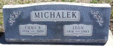 MICHALEK, LEON - Jones County, South Dakota   LEON MICHALEK - South Dakota Gravestone Photos