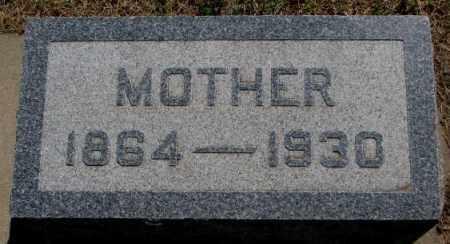MILLAY, MOTHER - Jones County, South Dakota | MOTHER MILLAY - South Dakota Gravestone Photos