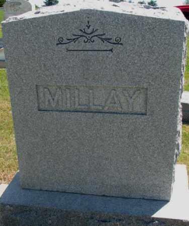 MILLAY, PLOT - Jones County, South Dakota   PLOT MILLAY - South Dakota Gravestone Photos