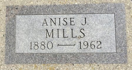 MILLS, ANISE - Jones County, South Dakota   ANISE MILLS - South Dakota Gravestone Photos