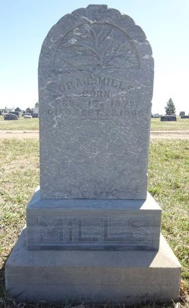 MILLS, ORA - Jones County, South Dakota   ORA MILLS - South Dakota Gravestone Photos