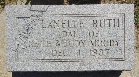 MOODY, LANELLE - Jones County, South Dakota | LANELLE MOODY - South Dakota Gravestone Photos
