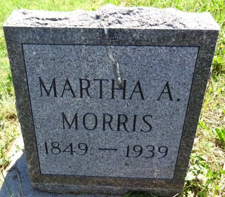 MORRIS, MARTHA - Jones County, South Dakota | MARTHA MORRIS - South Dakota Gravestone Photos