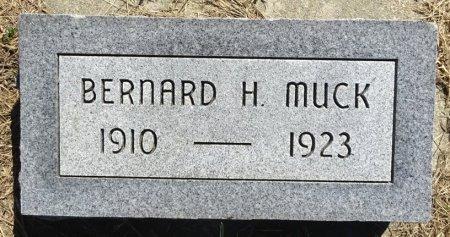 MUCK, BERNARD - Jones County, South Dakota | BERNARD MUCK - South Dakota Gravestone Photos