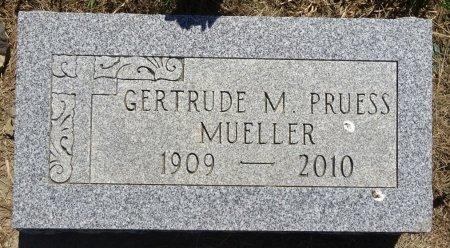 PRUESS MUELLER, GERTRUDE - Jones County, South Dakota | GERTRUDE PRUESS MUELLER - South Dakota Gravestone Photos