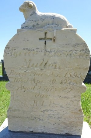 MULLEN, MYRTLE - Jones County, South Dakota | MYRTLE MULLEN - South Dakota Gravestone Photos