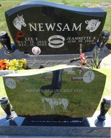 NEWSAM, LEE - Jones County, South Dakota | LEE NEWSAM - South Dakota Gravestone Photos