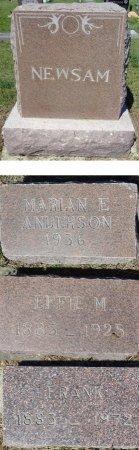 NEWSAM, MARIAN - Jones County, South Dakota | MARIAN NEWSAM - South Dakota Gravestone Photos