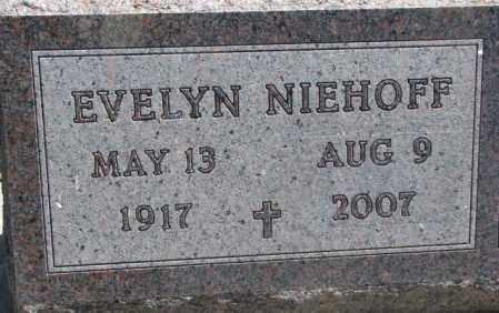 NIEHOFF, EVELYN - Jones County, South Dakota   EVELYN NIEHOFF - South Dakota Gravestone Photos