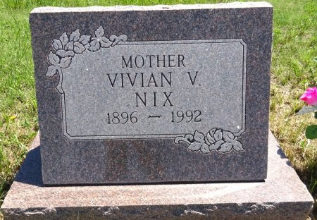 NIX, VIVIAN - Jones County, South Dakota   VIVIAN NIX - South Dakota Gravestone Photos