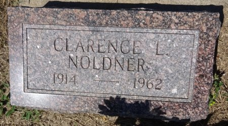 NOLDNER, CLARENCE - Jones County, South Dakota   CLARENCE NOLDNER - South Dakota Gravestone Photos