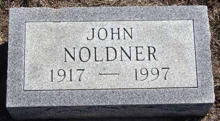 NOLDNER, JOHN - Jones County, South Dakota | JOHN NOLDNER - South Dakota Gravestone Photos