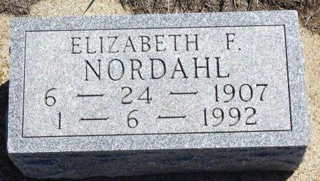 NORDAHL, ELIZABETH - Jones County, South Dakota | ELIZABETH NORDAHL - South Dakota Gravestone Photos