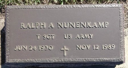 NUNENKAMP, RALPH - Jones County, South Dakota   RALPH NUNENKAMP - South Dakota Gravestone Photos