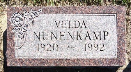 NUNENKAMP, VELDA - Jones County, South Dakota | VELDA NUNENKAMP - South Dakota Gravestone Photos