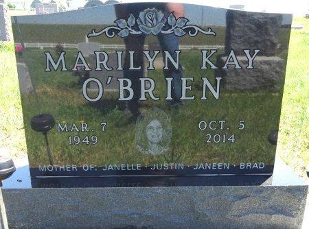 WALDRON O'BRIEN, MARILYN - Jones County, South Dakota | MARILYN WALDRON O'BRIEN - South Dakota Gravestone Photos