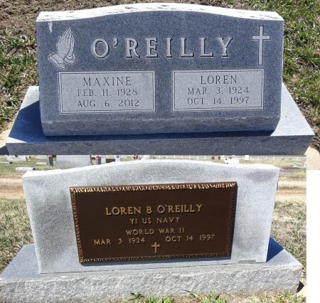 THORSON O'REILLY, MAXINE - Jones County, South Dakota   MAXINE THORSON O'REILLY - South Dakota Gravestone Photos
