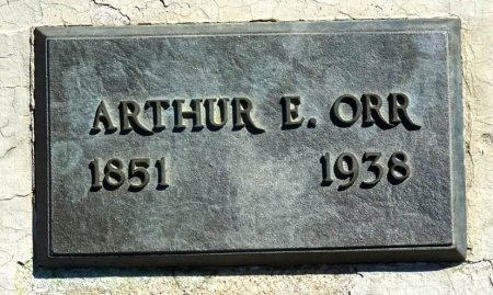 ORR, ARTHUR - Jones County, South Dakota | ARTHUR ORR - South Dakota Gravestone Photos