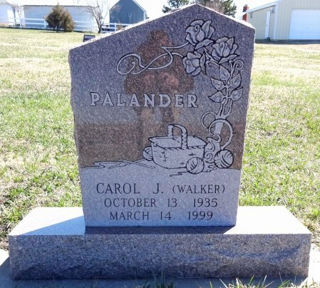 WALKER PALANDER, CAROL - Jones County, South Dakota | CAROL WALKER PALANDER - South Dakota Gravestone Photos