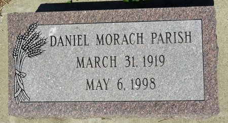 PARISH, DANIEL MORACH - Jones County, South Dakota | DANIEL MORACH PARISH - South Dakota Gravestone Photos