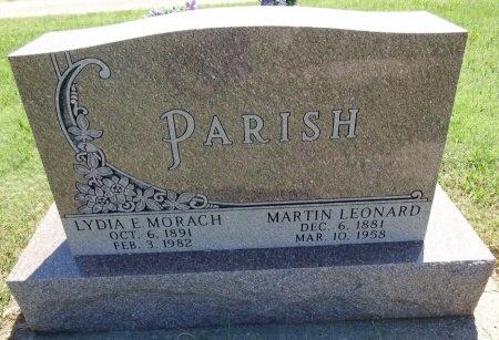 PARISH, MARTIN - Jones County, South Dakota | MARTIN PARISH - South Dakota Gravestone Photos