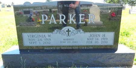 PARKER, JOHN - Jones County, South Dakota | JOHN PARKER - South Dakota Gravestone Photos