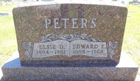 PETERS, EDWARD - Jones County, South Dakota   EDWARD PETERS - South Dakota Gravestone Photos