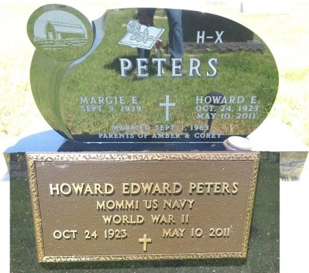 PETERS, HOWARD - Jones County, South Dakota | HOWARD PETERS - South Dakota Gravestone Photos