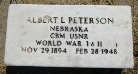 PETERSON, ALBERT - Jones County, South Dakota | ALBERT PETERSON - South Dakota Gravestone Photos