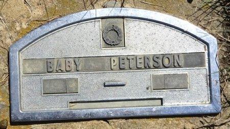 PETERSON, BABY - Jones County, South Dakota | BABY PETERSON - South Dakota Gravestone Photos