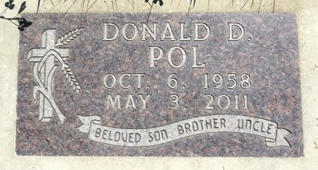 POL, DONALD - Jones County, South Dakota | DONALD POL - South Dakota Gravestone Photos