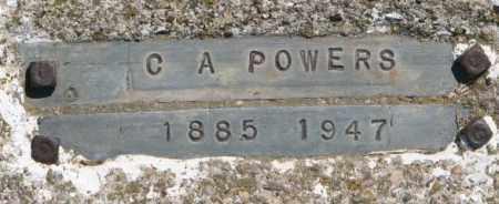 POWERS, C.A. - Jones County, South Dakota | C.A. POWERS - South Dakota Gravestone Photos