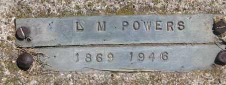 POWERS, L.M. - Jones County, South Dakota | L.M. POWERS - South Dakota Gravestone Photos