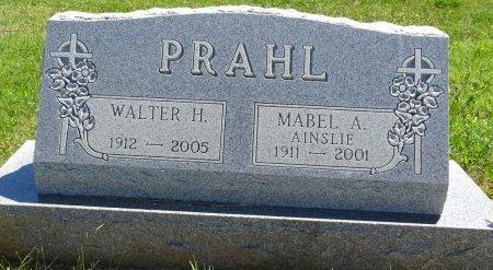 PRAHL, WALTER - Jones County, South Dakota | WALTER PRAHL - South Dakota Gravestone Photos