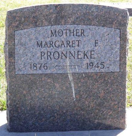 PRONNEKE, MARGARET F. - Jones County, South Dakota | MARGARET F. PRONNEKE - South Dakota Gravestone Photos