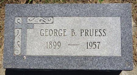 PRUESS, GEORGE - Jones County, South Dakota   GEORGE PRUESS - South Dakota Gravestone Photos