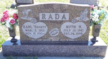 RADA, RUTH - Jones County, South Dakota | RUTH RADA - South Dakota Gravestone Photos