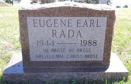 RADA, EUGENE - Jones County, South Dakota   EUGENE RADA - South Dakota Gravestone Photos
