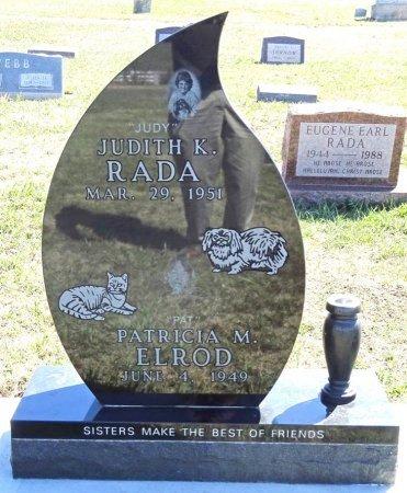 RADA, JUDITH - Jones County, South Dakota   JUDITH RADA - South Dakota Gravestone Photos