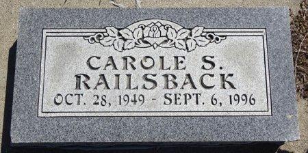 RAILSBACK, CAROLE S. - Jones County, South Dakota | CAROLE S. RAILSBACK - South Dakota Gravestone Photos
