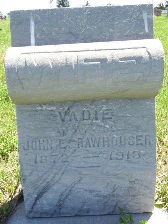 RAWHOUSER, VADIE - Jones County, South Dakota | VADIE RAWHOUSER - South Dakota Gravestone Photos