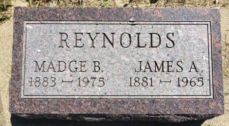 REYNOLDS, MADGE - Jones County, South Dakota | MADGE REYNOLDS - South Dakota Gravestone Photos