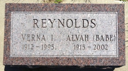 NEWSAM REYNOLDS, VERNA - Jones County, South Dakota | VERNA NEWSAM REYNOLDS - South Dakota Gravestone Photos